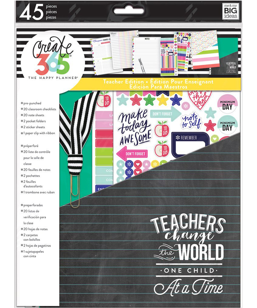 MAMBI - Happy Planner - Teacher Accessory Pack