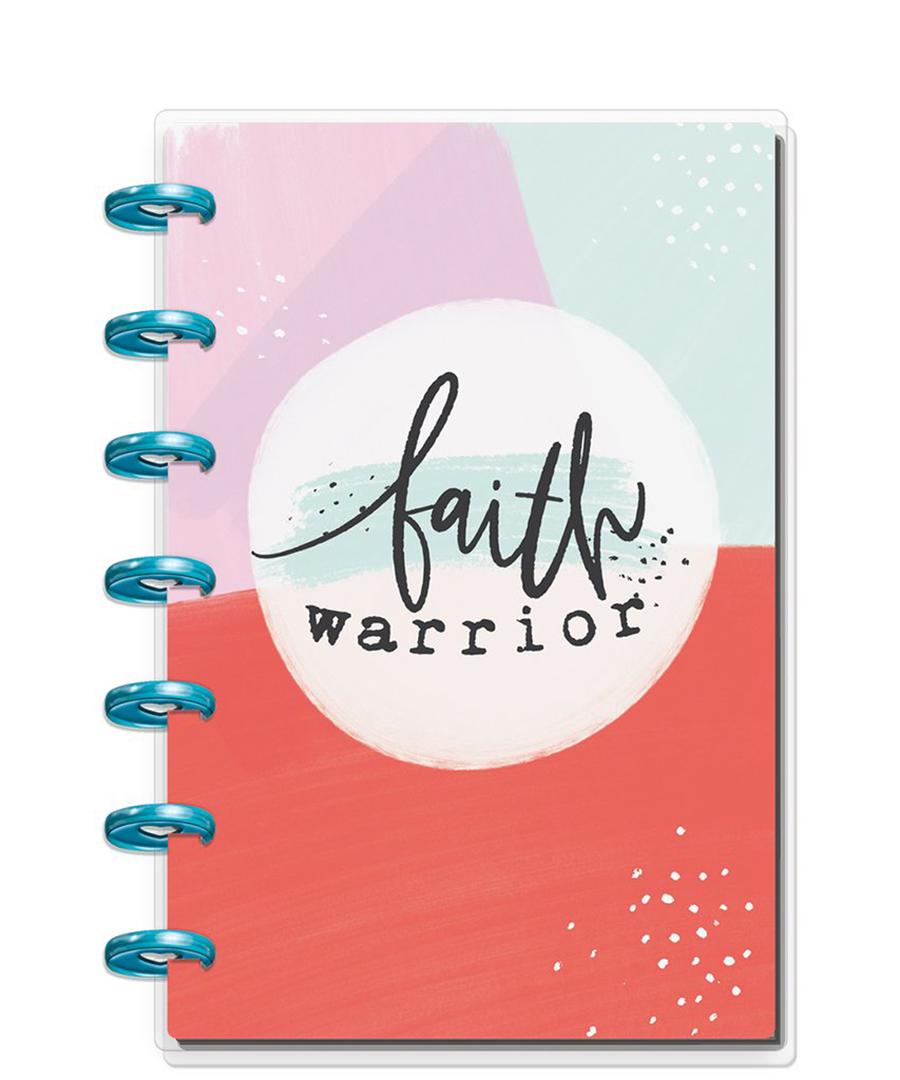 MAMBI - Happy Planner - 2019 Deluxe MINI 12 Month Planner - Faith Warrior  (vertical)