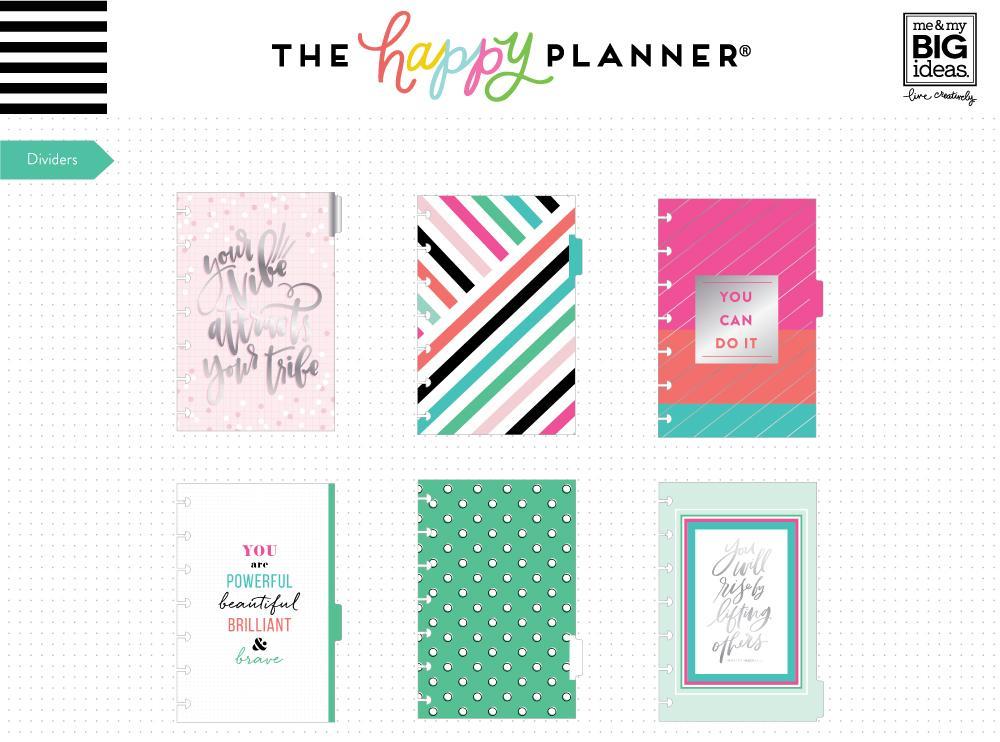 MAMBI - Happy Planner - Mini Rainbow Six Month Extension